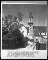 Ehem. Benediktinerkirche in 78050 Villingen (1950/55 - Bildarchiv Foto Marburg - Foto: Schröder, Walter)
