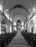Ehem. Benediktinerkirche in 78050 Villingen (1950/ 80 - Bildarchiv Foto Marburg - Foto: Keller, Karl Franz )