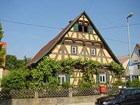 Ansicht von Osten / Wohnhaus mit Scheune  in 70794 Filderstadt, Bonlanden (2008 - Foto: Tilmann Marstaller )