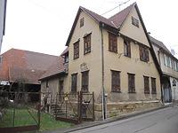 Ansicht des Gebäudes von Süden (2021) / Bauernhaus in 71711 Steinheim an der Murr (11.03.2021 - Markus Numberger, Esslingen)
