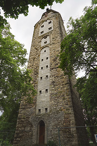 Ansicht des Turmes von Osten / Hochturm in 78628 Rottweil, Altstadt (12.2020 - Dipl. Ing. Stefan King)