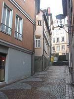 Südwestliche Ansicht von der Hohen Gasse aus. / Wohnhaus in 74523 Schwäbisch Hall
