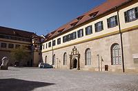 Innenhof, Ecke Nord-Westflügel / Schloss Hohentübingen in 72070 Tübingen (21.09.2019 - Christin Aghegian-Rampf)