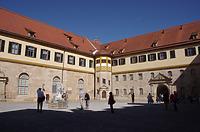 Innenhof, Ecke Nord-Ostflügel / Schloss Hohentübingen in 72070 Tübingen (21.09.2019 - Christin Aghegian-Rampf)