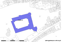 Lageplan (Vorlage: RPS, LV-BW und LAD) / Schloss Hohentübingen in 72070 Tübingen