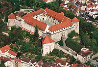 Luftbild von Schloß Hohentübingen (www.uni-tuebingen.de) / Schloss Hohentübingen in 72070 Tübingen