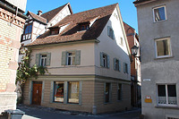 Rottweil, Badgasse 9- Wohnhaus Südwestansicht / Wohnhaus in 78628 Rottweil (Landesamt für Denkmalpflege Freiburg, Bildarchiv)