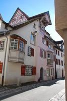 Rottweil, Badgasse 5 - Wohnhaus, Nordwestansicht / Wohnhaus in 78628 Rottweil (Landesamt für Denkmalpflege Freiburg, Bildarchiv)