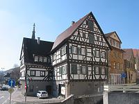 Ansicht des Blaubeurer Pfleghofes von Osten / Blaubeurer Pfleghof in 73728 Esslingen am Neckar