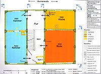 Bauphasenplan 1. OG / Wohnhaus in 72119 Ammerbuch - Entringen (T. Marstaller)
