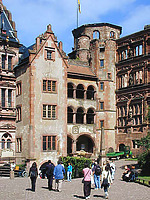 Gläserner Saalbau Schloß Heidelberg / Gläserner Saalbau in 69117 Heidelberg, Altstadt