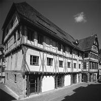 Zustand nach der Sanierung 1992 (Bild entnommen von http://www.manderscheid-architekten.de/) / ehem. Kornhaus in 72070 Tübingen