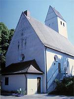 Ansicht von Südost / Kirche St. Wolfgang in 89616 Rottenacker