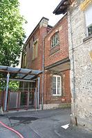 """Nordfassade / Ehem. Batteurbau, Teil der Weberei und Spinnerei """"Leuze"""" in 73252 Lenningen-Unterlenningen (17.05.2019 - strebewerk.Architekten)"""