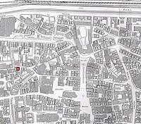 Ausschnitt Kartographie Schwäbisch Gmünd (1986) / Wohnhaus in 73525 Schwäbisch Gmünd