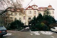 Baden-Baden, Schloß Neuweier, Ansicht West / Schloss Neuweier in 76534 Baden-Baden, Neuweier