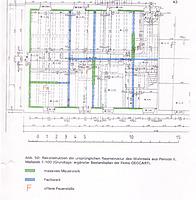 Rekonstruktion der ursprünglichen Raumstruktur des Wohnteils aus Periode II / Nebengebäude in 76534 Baden-Baden, Neuweier