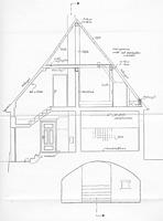 Querschnitt (Mai 1990) / Wohnhaus in 72660 Beuren