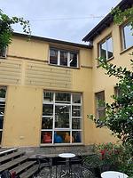 Hofffassade, Nordfassade / Nanz-Halle in 73728 Esslingen am Neckar (06.06.2019 - strebewerk.Architekten)