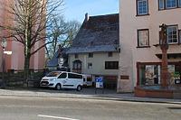Rottweiil. Lorenzgasse 3, Westansicht / Wohn- und Geschäftshaus in 78628 Rottweil (Fotoarchiv Freiburg, Landesamt für Denkmalpflege)
