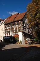 Südostansicht  / Wohnhaus in 78628 Rottweil (Bildarchiv Freiburg, Landesamt für Denkmalpflege )