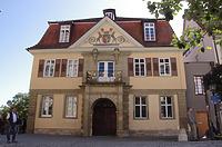 Nordfassade / Alte Aula  in 72070 Tübingen (21.09.2019 - Christin Aghegian-Rampf)