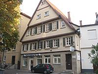 Ansicht des Gebäudes Spreuergasse 6 / Wohngebäude in 70372 Stuttgart, Bad Cannstatt