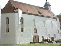 Ansicht von Nordost / ehemalige Klosterkirche in 72532 Gommadingen-Offenhausen