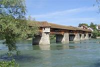 Alte Rheinbrücke, Brückenr. 23, Bauwerksnr. 841 3 512 in Bad Säckingen