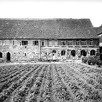 Ausschnitt photogrammetrische Aufnahme Ansicht Ost, 1979 / Westflügel Konventgebäude in 73467 Kirchheim/Ries, Kirchheim am Neckar