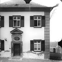 Ausschnitt photogrammetrische Aufnahme Ansicht Süd, 1989 / Herrenhaus in 73467 Kirchheim am Ries
