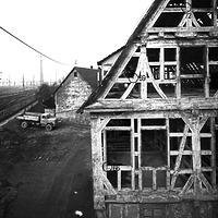 Ausschnitt photogrammetrische Aufnahme Neckarstraße 18 (heute Am Markt 1) / Altes Rathaus in 73207 Plochingen