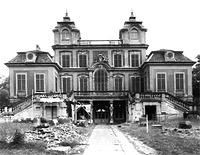 Ansicht Süd, 1975 / Schloss Favorite in 71642 Ludwigsburg, Favoriteschloß