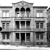 Photogrammetrische Aufnahme 1977 / Wohnhaus in 70178 Stuttgart, Stuttgart-West