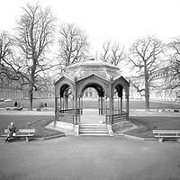Ausschnitt photogrammetrische Aufnahme vor Translozierung 1976 / Pavillon in 70173 Stuttgart, Stuttgart-Mitte