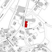 Flurkarte 2006 (Vorlage LV-BW) / Westflügel Konventbau in 72270 Baiersbronn - Klosterreichenbach