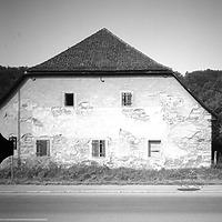 Photogrammetrische Aufnahme Ansicht Ost, 1975 / Bebenhäuser Klosterhof-Klosterscheune in 72074 Tübingen-Lustnau