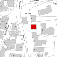 Flurkarte 2006 (Vorlage LV-BW und LAD) / ehem. Pfarrhaus in 73650 Winterbach