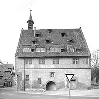 Photogrammetrische Aufnahme Ansicht Ost, 1976 / ehem. Kelter in 75417 Mühlacker