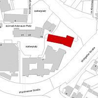 Flurkarte 2006 (Vorlage LV-BW und LAD) / ehem. Kelter in 75417 Mühlacker