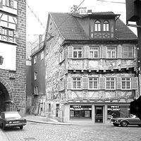 Ausschnitt photogrammetrische Aufnahme Ansicht Nord, 1976 / Wohnhaus in 73728 Esslingen am Neckar