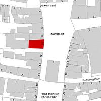 Flurkarte 2006 (Vorlage LV-BW und LAD) / Gasthaus Straußen in 97980 Bad Mergentheim