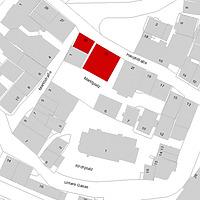 Flurkarte 2006 (LV-BW und LAD) / Rathaus und Haus Hirsch in 74219 Möckmühl