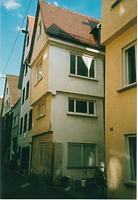 Ulm, Kohlgasse 18, Westansicht und Nordgiebel. / Wohnhaus mit Kornhaus in 89073 Ulm / Donau