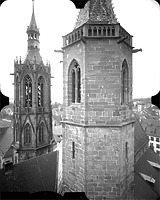 Photogrammetrische Aufnahme Ansicht von Nordost, 1976 / Münster Unserer Lieben Frau in 78050 Villingen