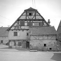 Ausschnitt photogrammetrische Aufnahme Ansicht Nordost, 1976 / Wohnhaus in 71384 Weinstadt-Beutelsbach