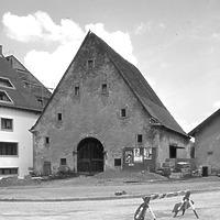 Ausschnitt photogrammetrische Aufnahme Ansicht von Süd, 1976 / Zehntscheune in 72351 Geislingen