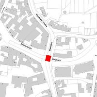 Flurkarte 2006 (LV-BW und LAD) / Tulla-Brücke in 76356 Weingarten, Weingarten (Baden)