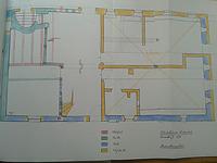 Baualtersplan EG / Altes Pfarrhaus in 74385 Pleidelsheim (10.03.2015 - B.Lohrum)