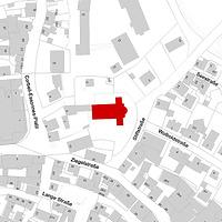 Flurkarte (Vorlage LV-BW und LAD) / Martinskirche in 71063 Sindelfingen